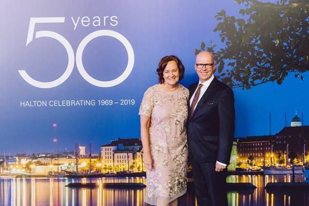 halton 50 anni