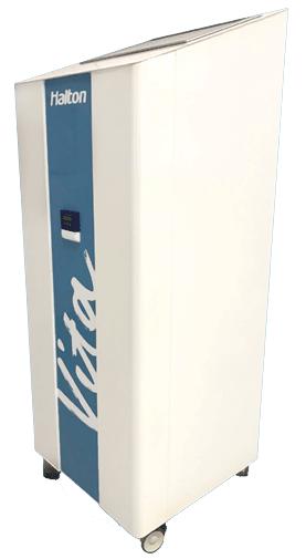Halton vita cell room purificatore d aria settore sanitario alberghiero navale Solving Italia Soltec