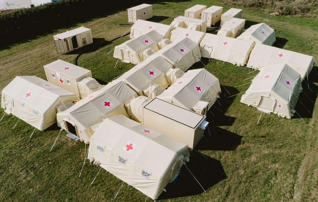 unità di isolamento - ospedale da campo con unita isolamento ventilazione controllata halton solving italia srl soltec