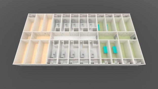 unità mobili di isolamento halton
