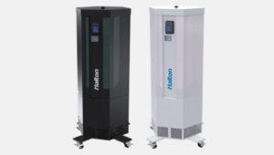 halton sentinel - Unità mobile filtrazione aria radiazione UV germicida Halton Sentinel riduce rischio infezioni respiratorie Solving Italia