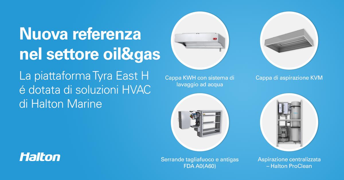nuovo progetto di sviluppo Tyra transizione energetica HVAC settore oil and gas Solving Italia Rosetti Marino Total 1