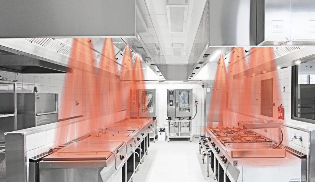 innovazione soluzioni di ventilazione cucine halton marvel